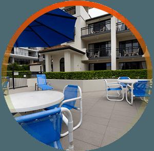 Relaxing Broadbeach family accommodation facility