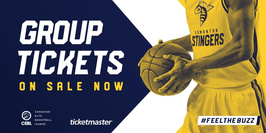 Edmonton Stingers Group Tickets Now On Sale