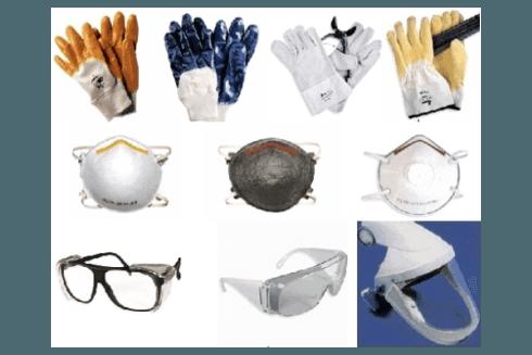 Rossanino propone guanti ed occhiali di protezione e sicurezza.