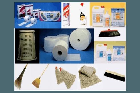 La ditta Rossanino propone articoli per la pulizia di aziende ed industrie.