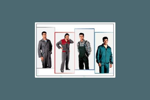 Rossanino presenta capi di vestiario per luoghi di lavoro.