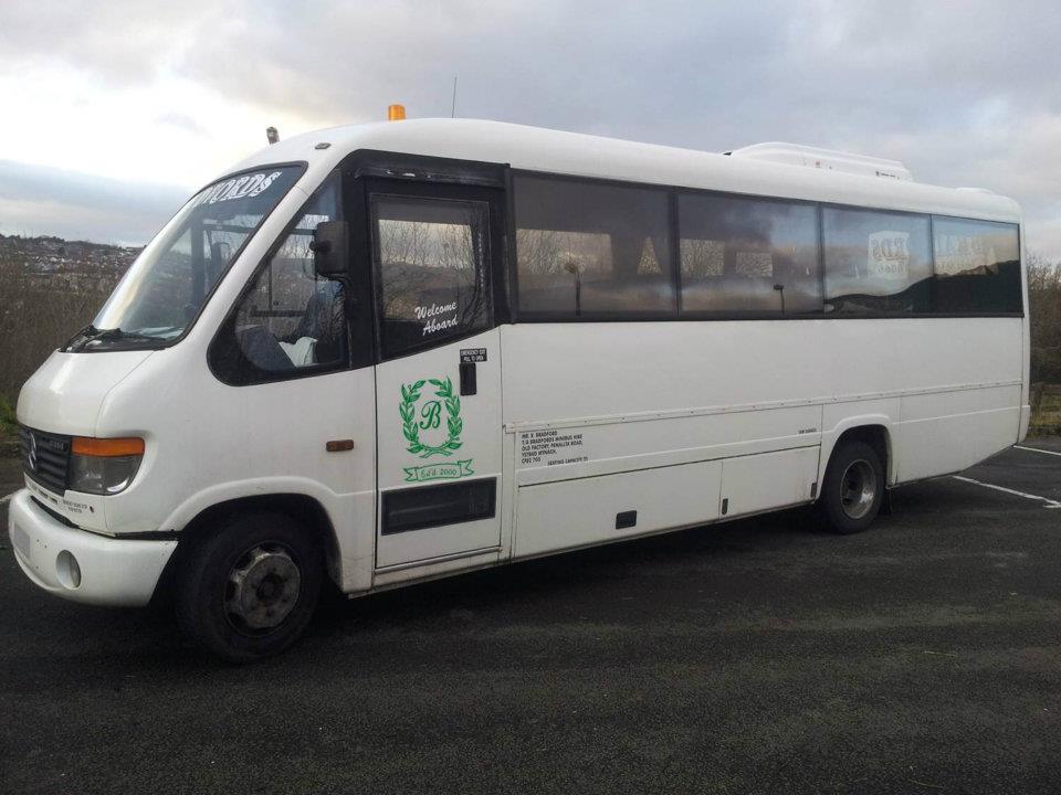 branding on minibus
