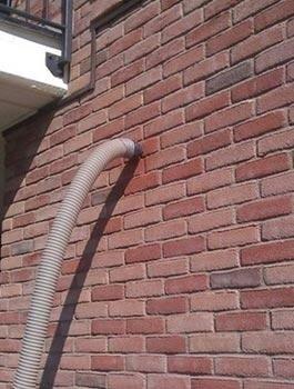 Sufflaggio cellulosa nella parete