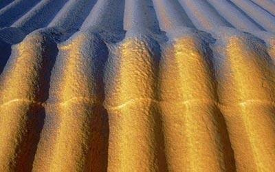 Coibentazione tetti con poliuretano