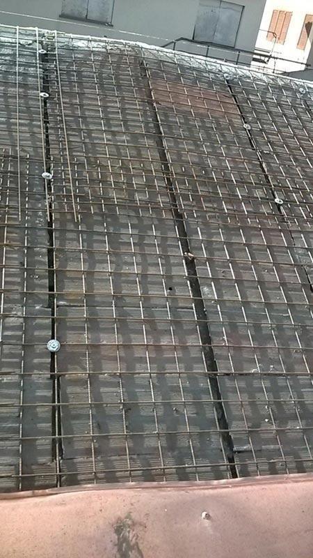 Rete elettrosaldata per coperture
