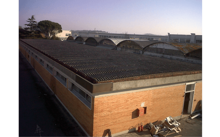 Bonifica copertura in amianto