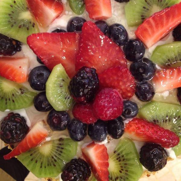 Torta di frutta al Panificio Casellato a Treviso