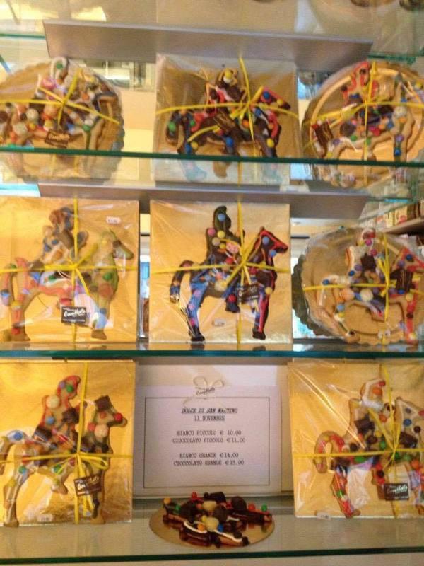 Biscotti del panificio Castellato a Treviso