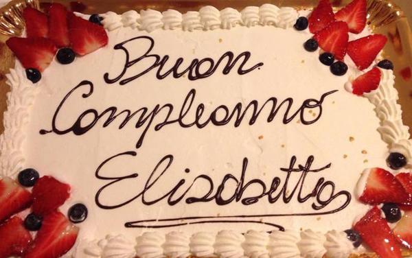Torta di compleanno Elisabetto presso Panificio Casellato a Treviso