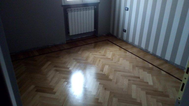 pavimento in legno con il modello