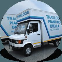un camion dei traslochi