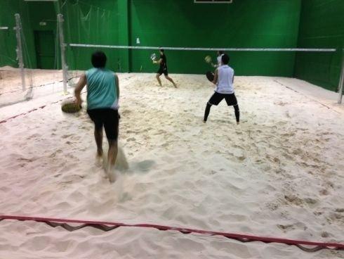 Lezioni di beach tennis