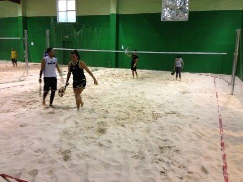 Partita beach tennis