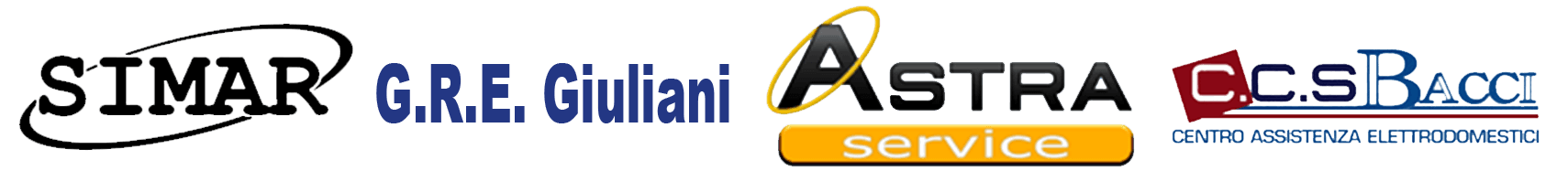 LOGHI - SIMAR - G.R.A GIULIANI - ASTRA SERVICE - C.C.S. BACCI