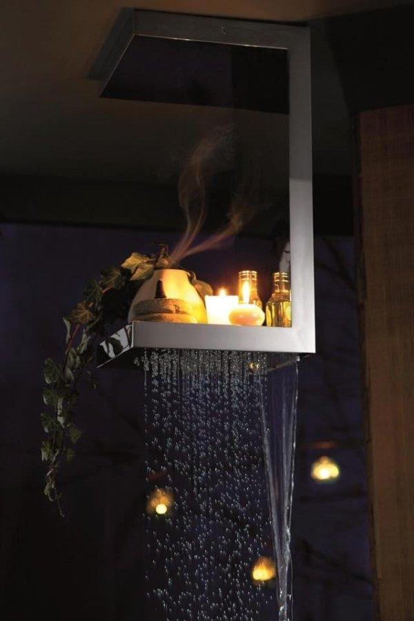 Soffioni doccia in acciaio inox