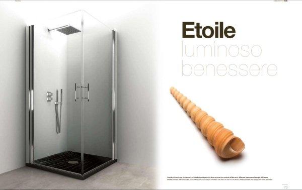 box doccia in vetro a marchio ETOILE