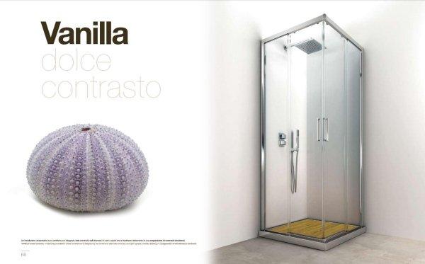 box doccia a marchio VANILLA