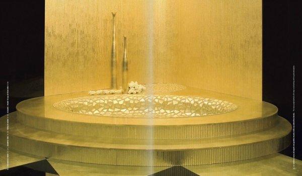 lavabo moderno giallo