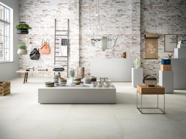 salotto moderno con arredamento