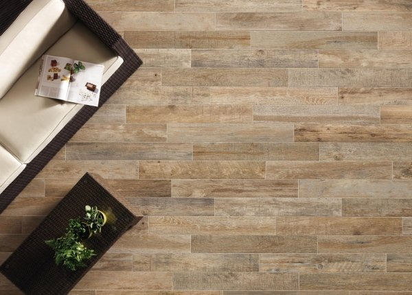 pavimento in legno di una casa