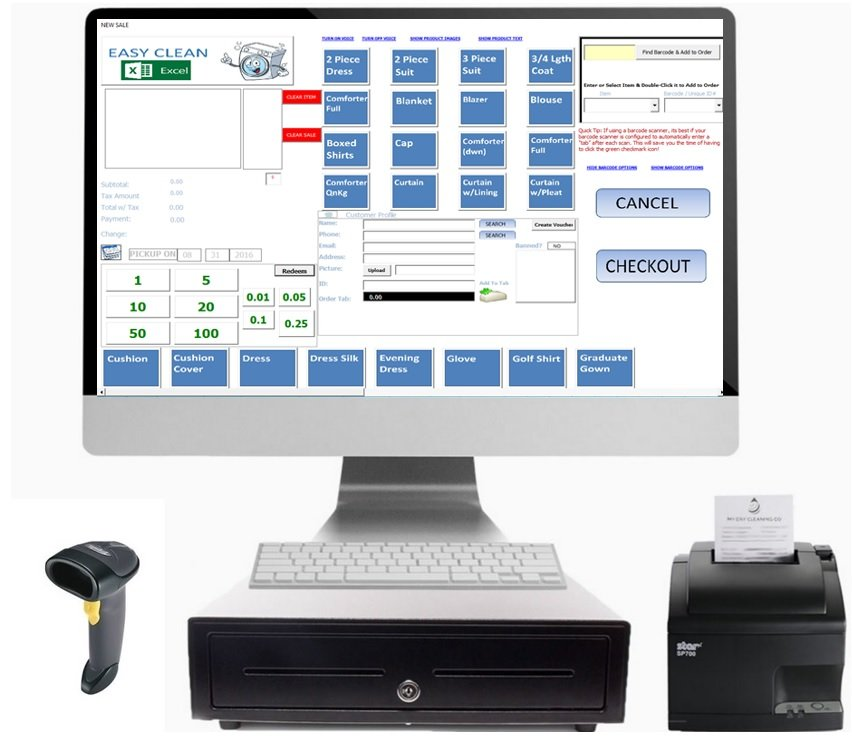 Excel Point Of Sale Ms Excel Point Of Sale Cash Register Software For Windows Office 365