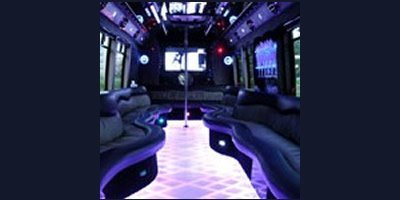 Rent a Party Bus With Bathroom