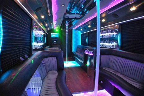 Party Bus Rental With Bathroom