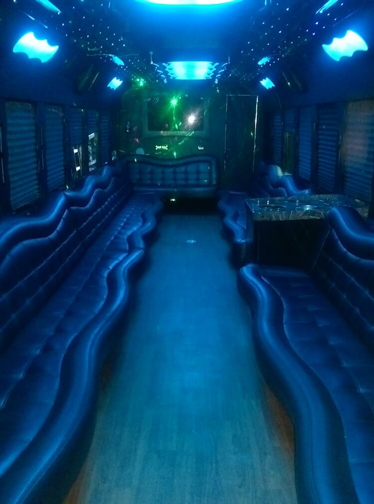 Rent a Party Bus With Restroom