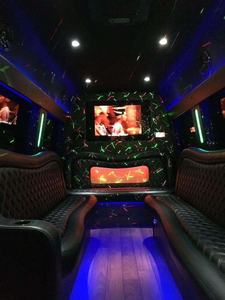 mercedes sprinter limo bus