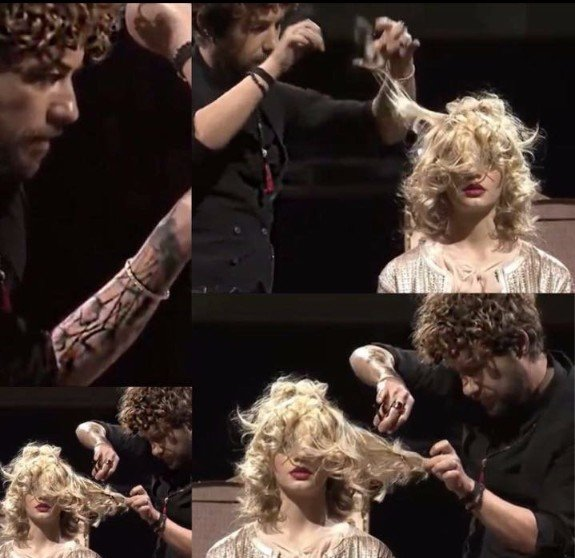 allungamento dei capelli