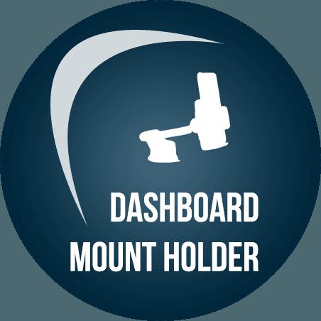 dashboard  mount holder logo