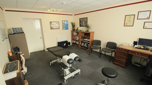 Melksham Family Chiropractic Centre Treatment Room