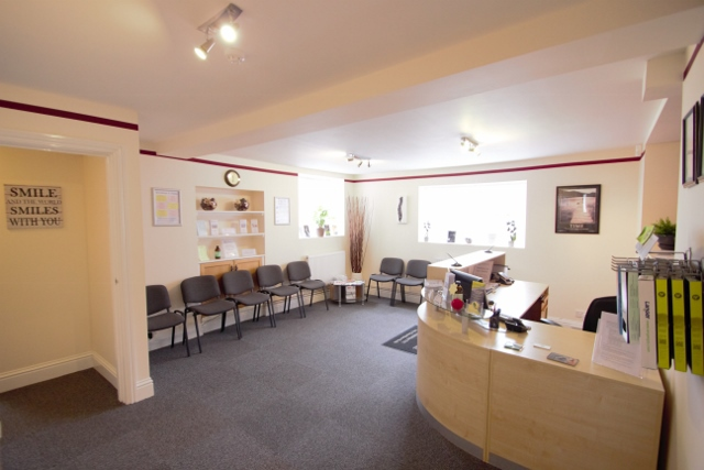 Melksham Family Chiropractic Centre waiting Room