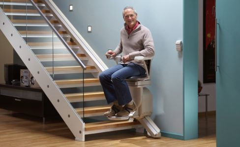 A chair lift