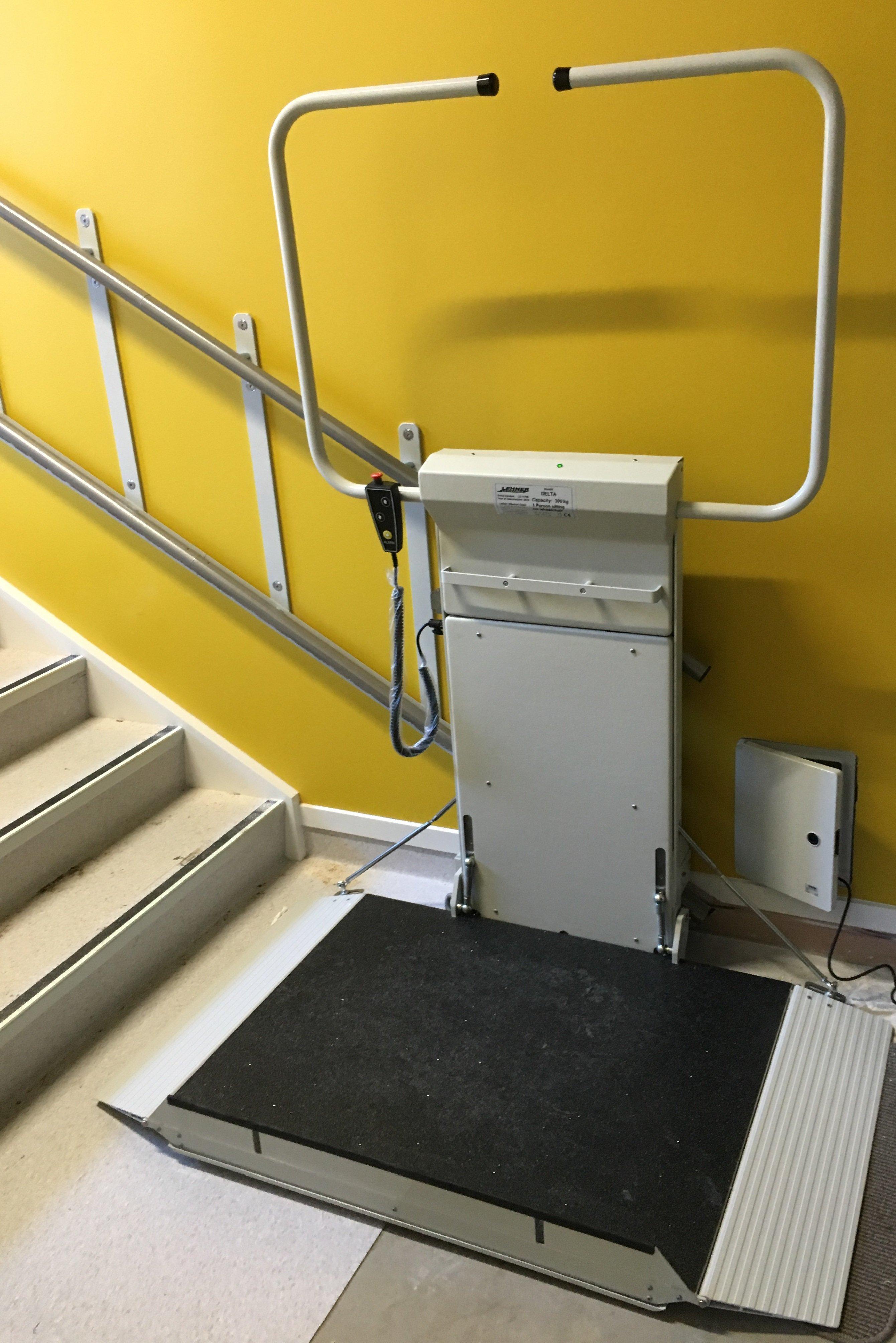 View of Lehner Wheelchair Platform