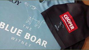 BLUE BOAR logo