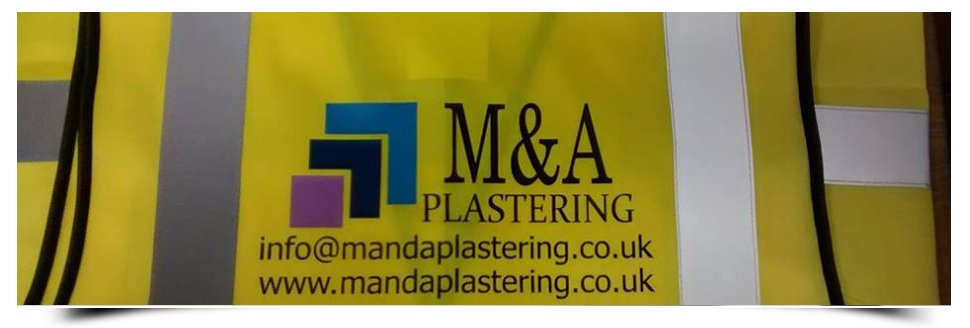 M & A Plastering graphic