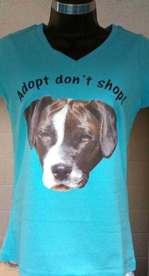 Adopt don't shop! tshirt