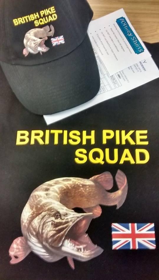 BRITISH PIKE SQUAD tshirt