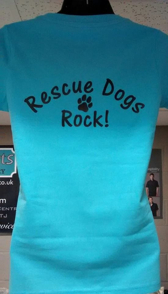 Rescue Dogs tshirt