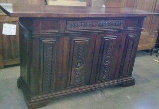 mobili restaurati, levigazione del legno, trattamento mobili
