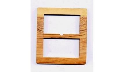 fibbia in legno