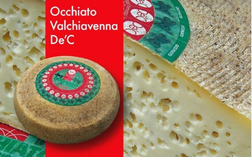 formaggio occhiato