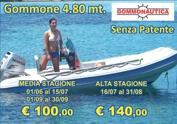 Inflatable Boat Charters Golfo Aranci