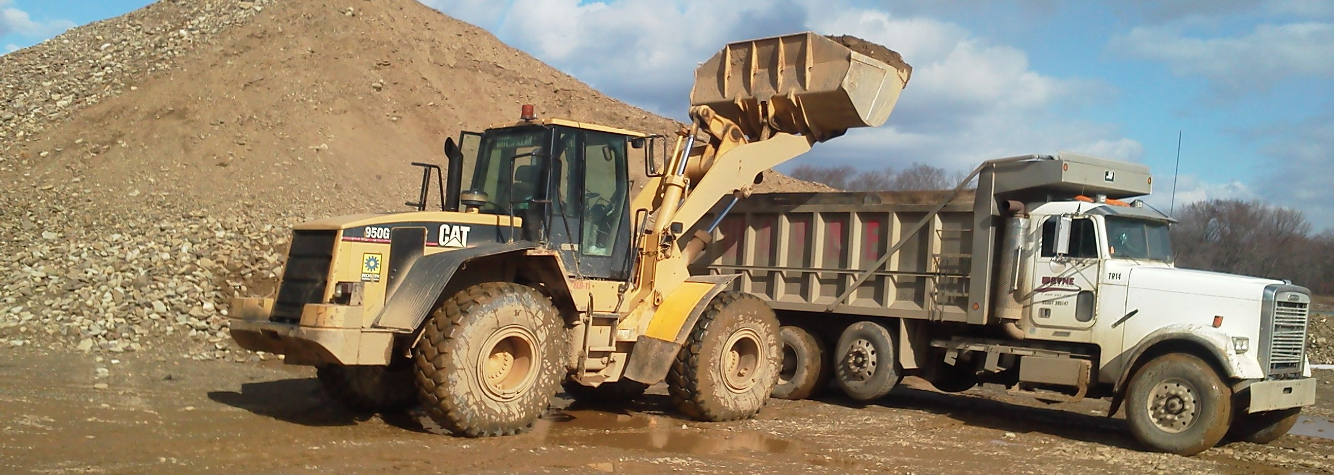 Sand & Gravel Hauling in Olean, NY