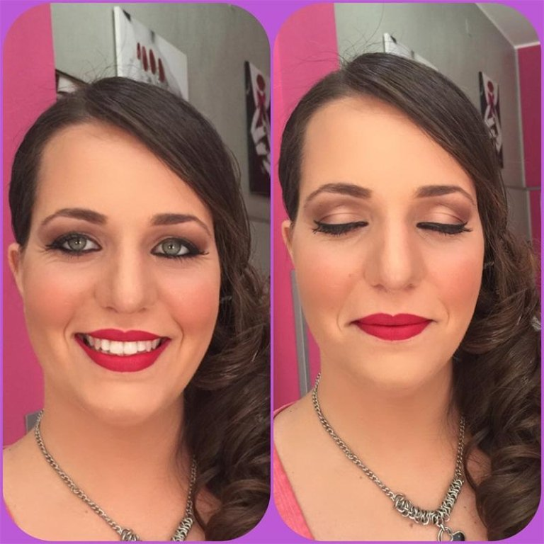 make up prima e dopo