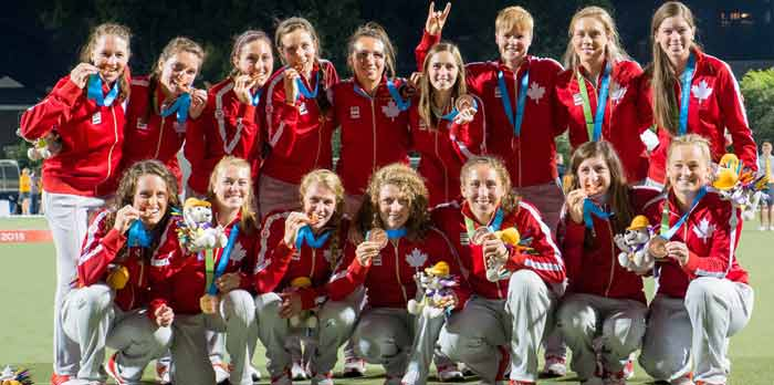Canada Field Hockey women's team in Japan