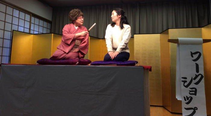 English Rakugo Workshop in Kyoto
