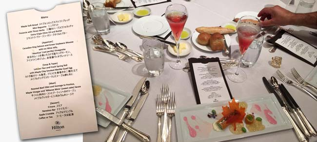 Canadian Lunch at Hilton Nagoya