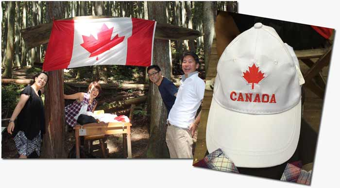 TJCS Canadian Camping in Japan